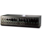 Planet MC-1500 network equipment chassis 2.4U Black