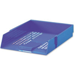 White Box CONTRACT LETTER TRAY BLUE