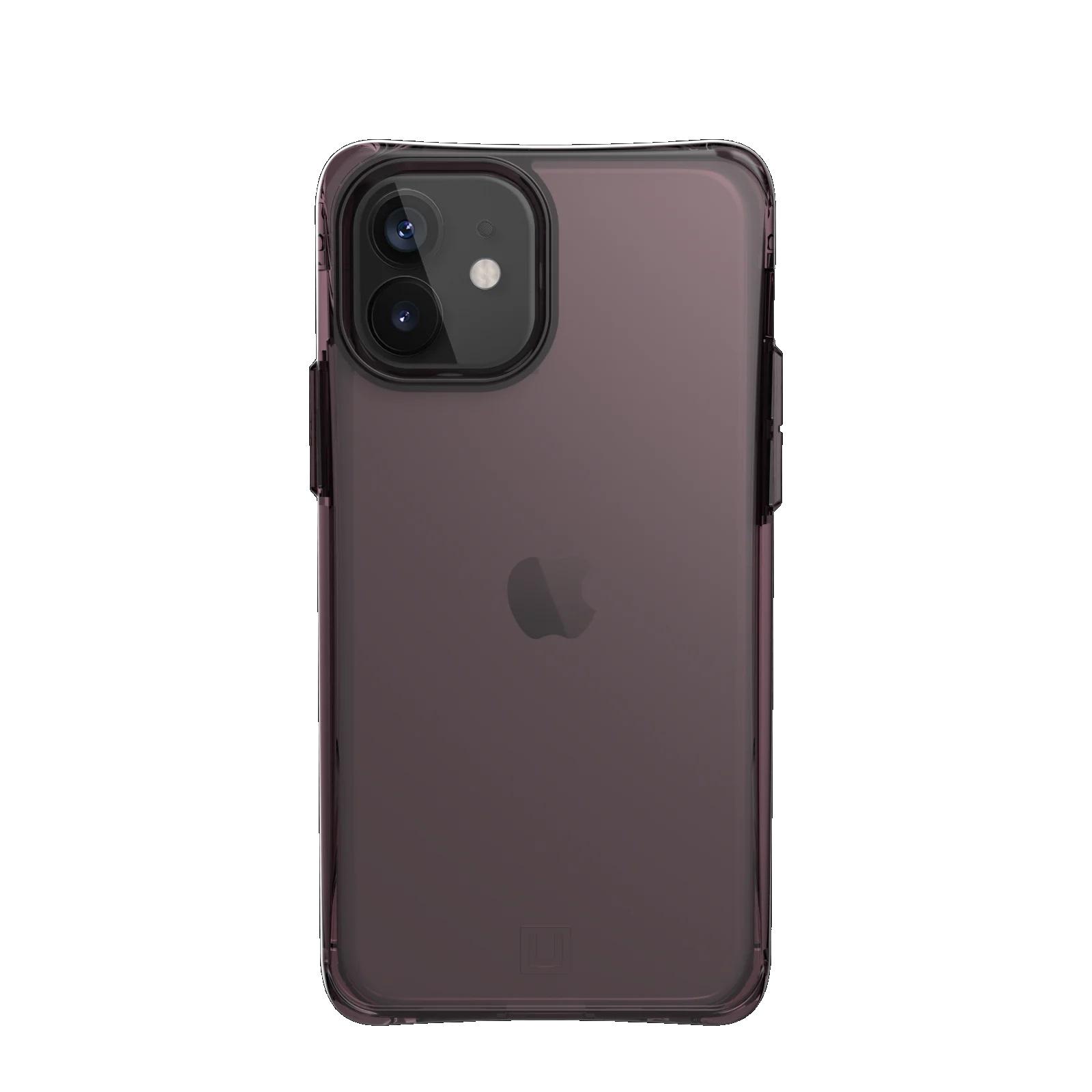 "Urban Armor Gear Mouve funda para teléfono móvil 15,5 cm (6.1"") Púrpura, Translúcido"