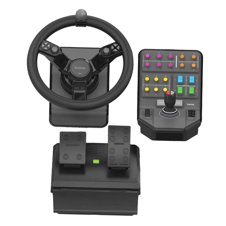 Logitech 945-000062 mando y volante Volante + Pedales Negro