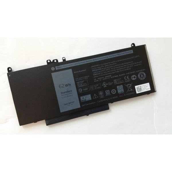 DELL Battery, 62WHR, 4 Cell, Lithium Ion - Approx 1-3 working day lead.