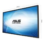 "ASUS SV555 54.6"" LCD Full HD Black public display"
