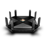 TP-LINK AX6000 wireless router Dual-band (2.4 GHz / 5 GHz) Gigabit Ethernet Black