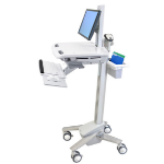 Ergotron StyleView EMR Cart with LCD Pivot Vlakke paneel Multimedia cart Wit