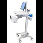 Ergotron StyleView EMR Cart with LCD Pivot Flat panel Multimedia cart White