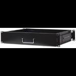 "Intellinet 19"" Drawer Shelf, 2U, Shelf Depth 350mm, Black"