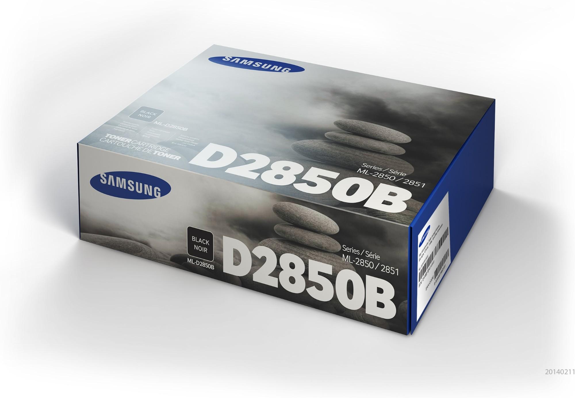 Samsung ML-D2850B Original Negro 1 pieza(s)