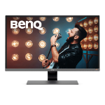 "Benq EW3270U computer monitor 80 cm (31.5"") 4K Ultra HD LED Flat Black,Grey,Metallic"