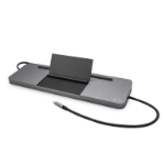 i-tec Metal USB-C Ergonomic 4K 3x Display Docking Station + Power Delivery 85 W