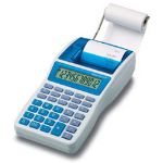 Ibico 1214X Desktop Printing Blue, White calculator