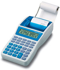IBICO 1214X CALCULATOR DESKTOP PRINTING BLUE,WHITE