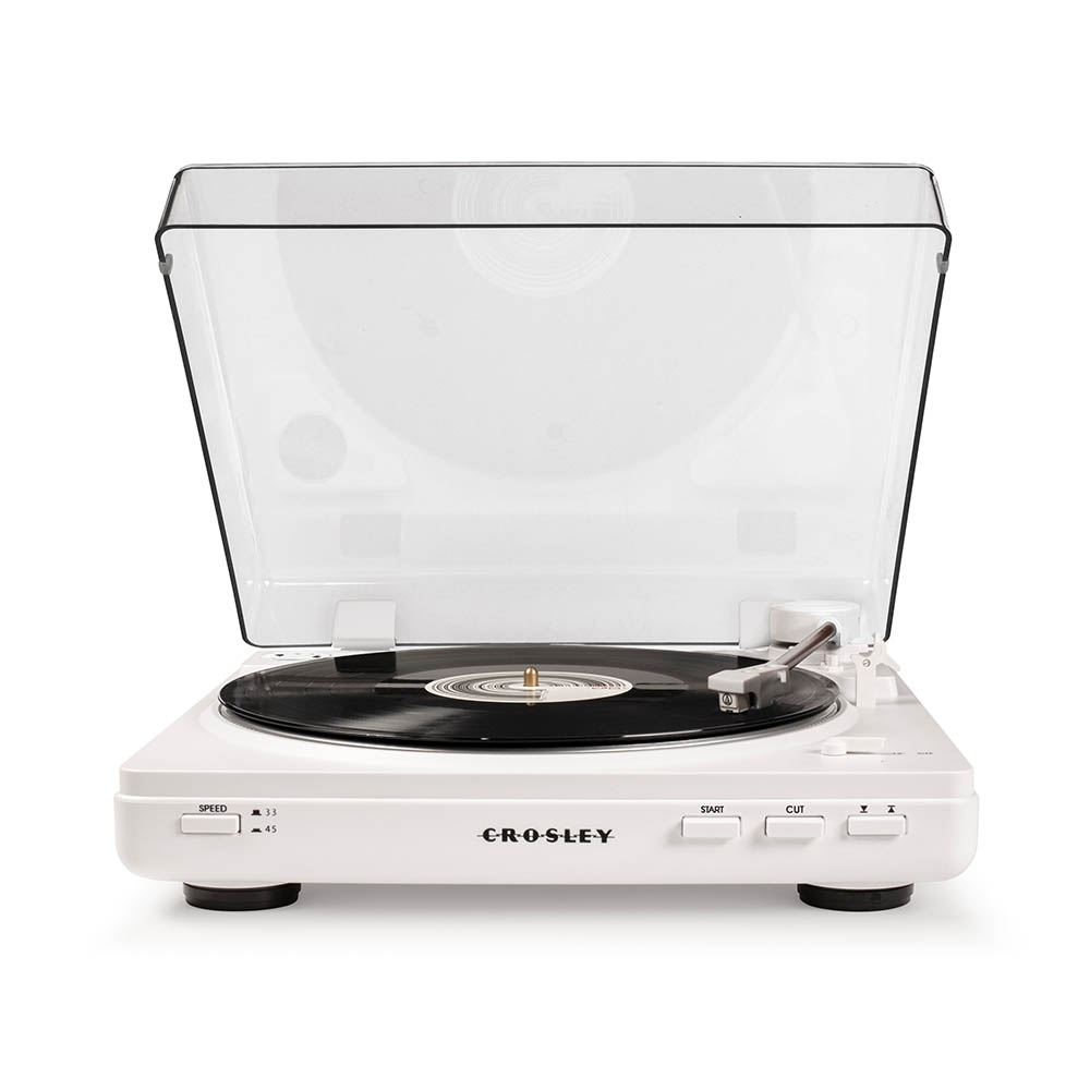 Crosley Auto T400 Turntable - White