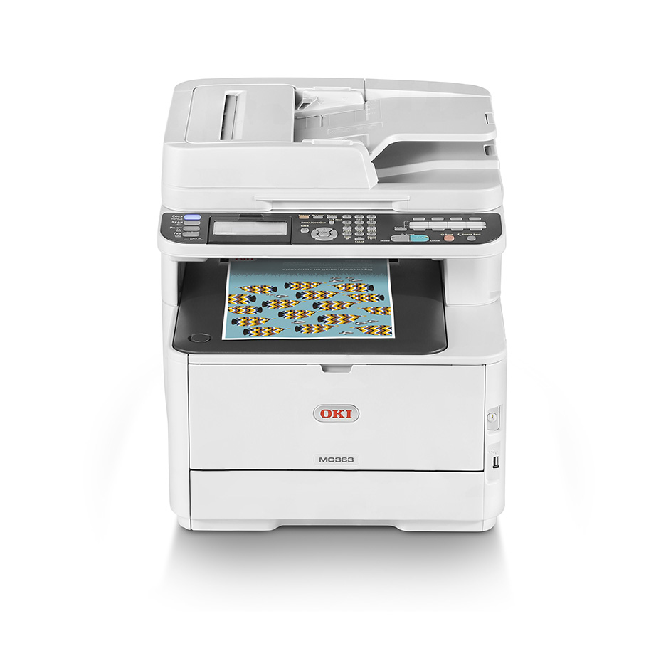 Mc363dn - Color Multifunction Printer - LED - A4 - USB / Ethernet