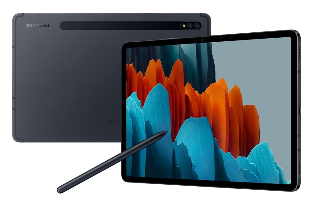 "Samsung Galaxy Tab S7 SM-T870N 128 GB 27.9 cm (11"") Qualcomm Snapdragon 6 GB Wi-Fi 6 (802.11ax) Android 10 Black"