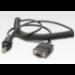 Zebra RS232 cable cable de serie Gris 2,4 m