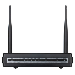 D-Link DSL-2750U Fast Ethernet Black wireless router