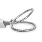 Verbatim 48865 USB cable 0.3 m USB A Micro-USB A Stainless steel