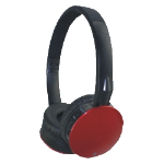 M-Cab 7002202 mobile headset Binaural Head-band Black,Red Wireless