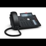 Snom D345 Wired handset Black,Blue IP phone