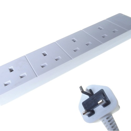 Connekt Gear 27-4050 power distribution unit (PDU) White 4 AC outlet(s)