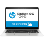 "HP EliteBook x360 1030 G3 Silver Hybrid (2-in-1) 33.8 cm (13.3"") 1920 x 1080 pixels Touchscreen 8th gen Intel® Core™ i5 8 GB LPDDR3-SDRAM 256 GB SSD Windows 10 Pro"