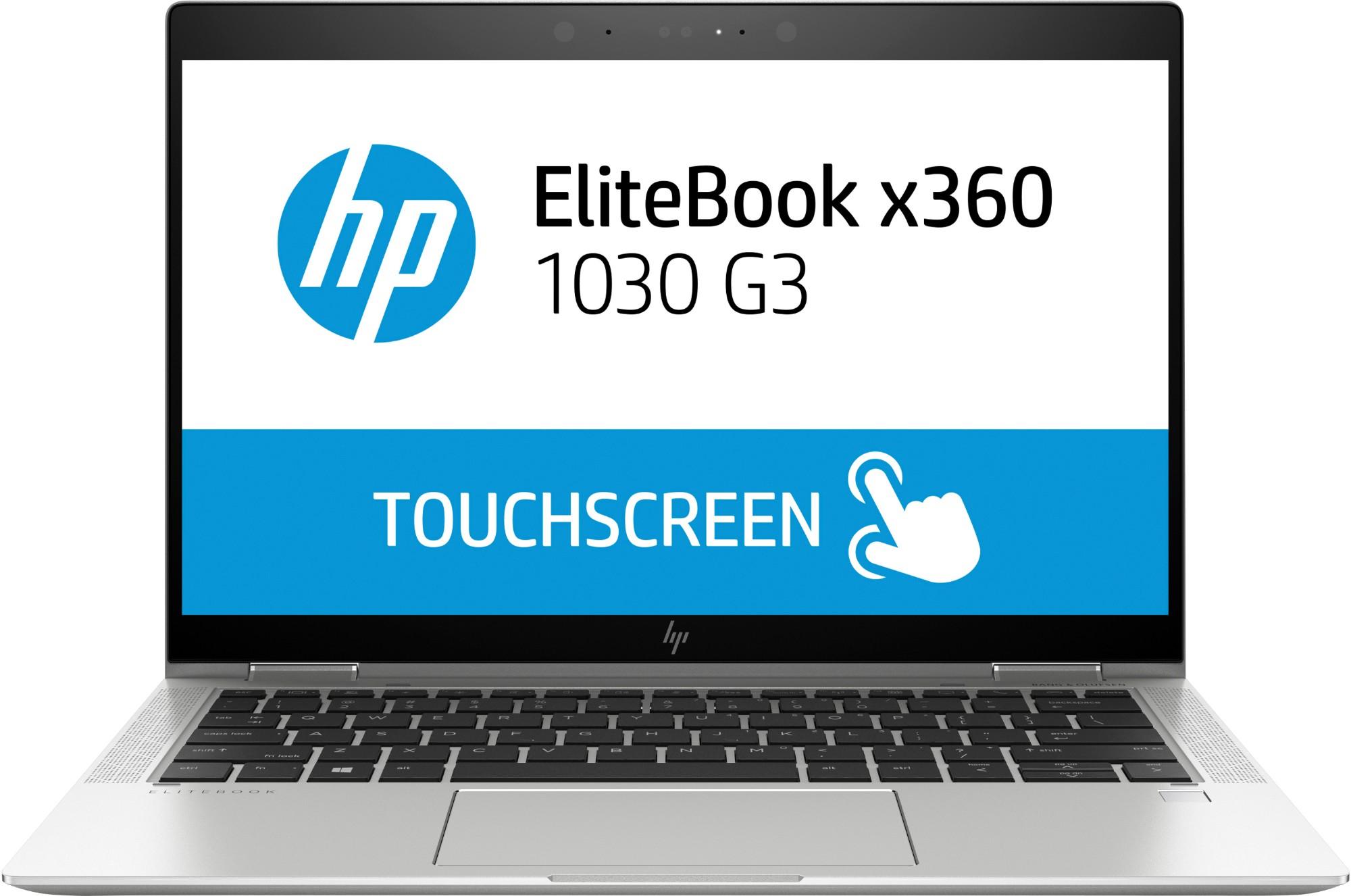 "HP EliteBook x360 1030 G3 Silver Hybrid (2-in-1) 33.8 cm (13.3"") 1920 x 1080 pixels Touchscreen 8th gen Intel® Core™ i5 i5-8350U 8 GB LPDDR3-SDRAM 256 GB SSD"