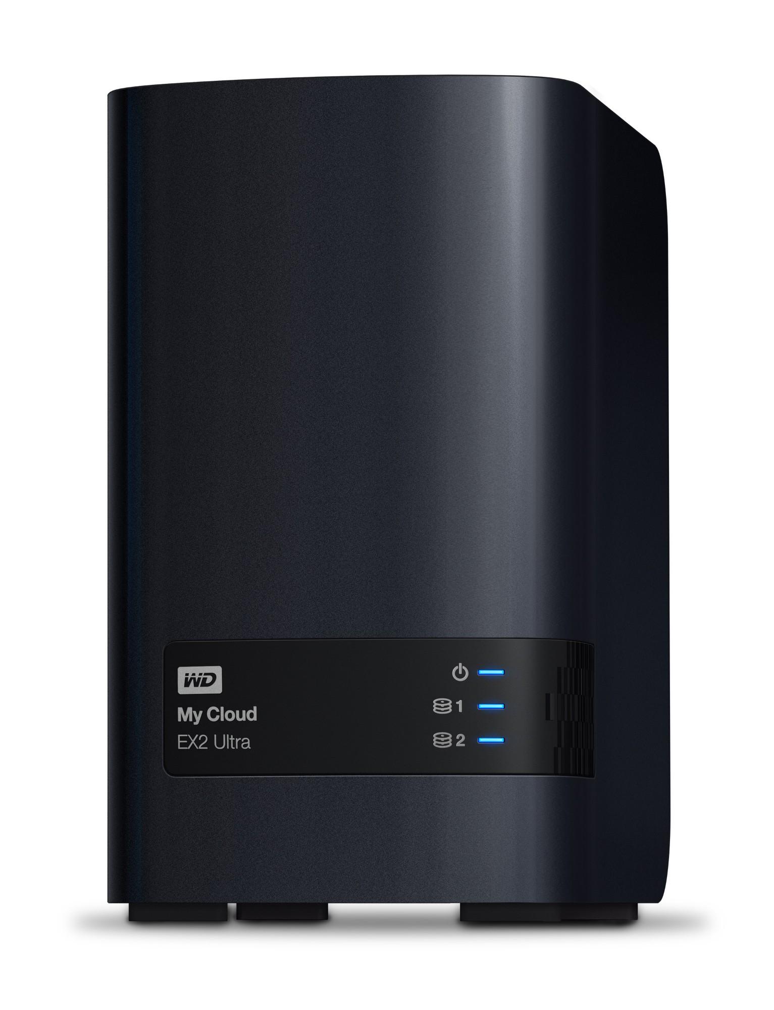 My Cloud Ex2 Ultra 3.5in 2x USB3.0 4TB (2x 2tb) Wd Red