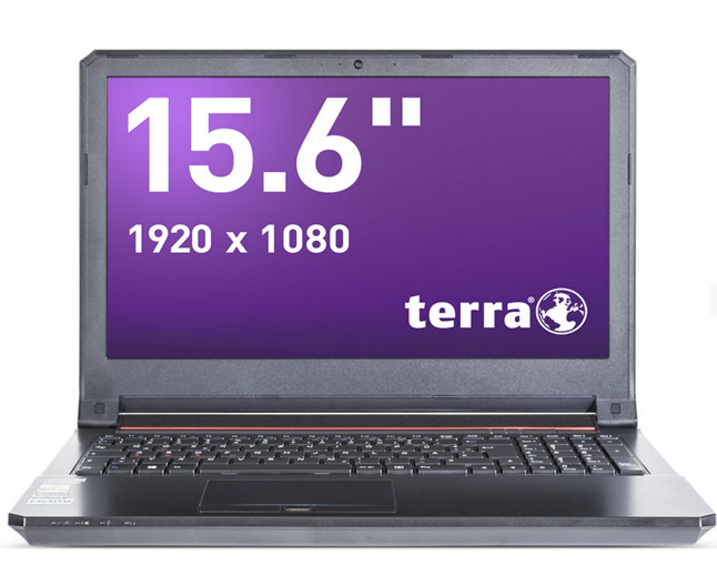 "Wortmann AG TERRA MOBILE 1549 2.3GHz i5-6300HQ 15.6"" 1920 x 1080pixels Anthracite Notebook"