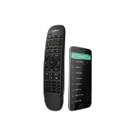 Logitech Harmony Companion remote control IR Wireless/Wi-Fi Black Press buttons