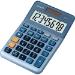 Casio MS-80E calculator Pocket Financial Blue