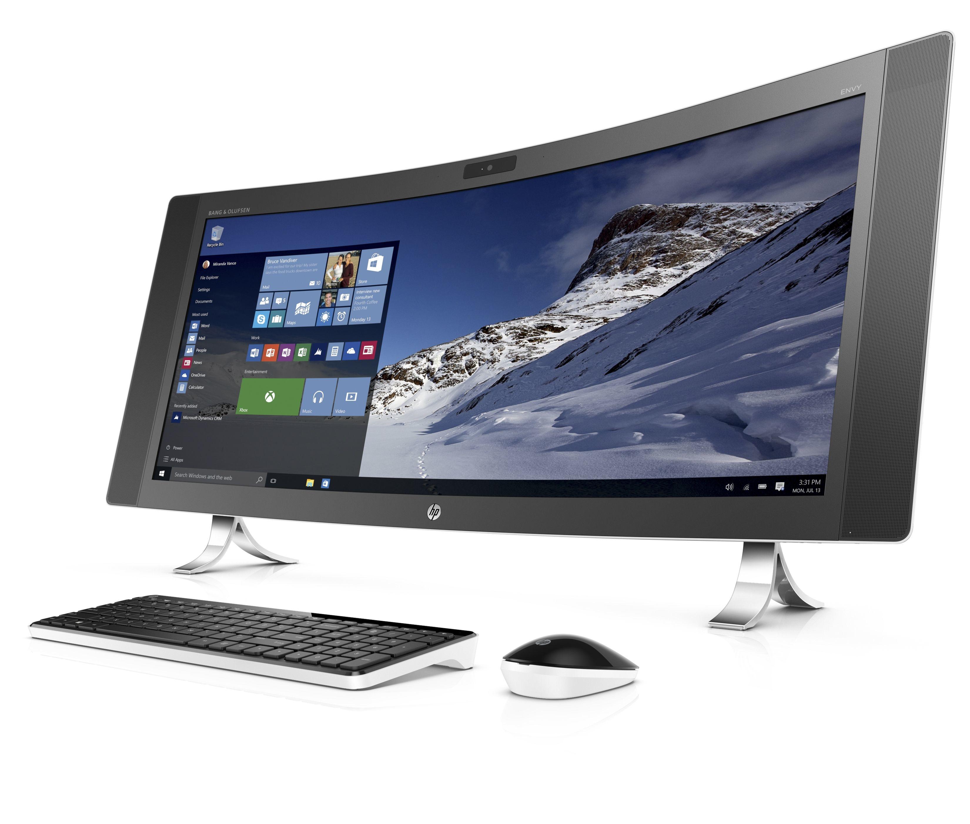 "HP ENVY 34-a090na 2.8GHz i7-6700T 34"" 3440 x 1440pixels White"