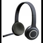 Logitech H600 WIRELESS HEADSET Voor computers via USB-ontvanger