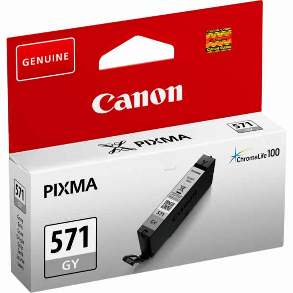 Canon 0389C001 (CLI-571 GY) Ink cartridge gray, 780 pages, 7ml