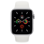 Apple Watch Series 5 smartwatch OLED Silver 4G GPS (satellite)