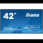 "iiyama LH4282SB-B1 42"" LED Full HD Black signage display"