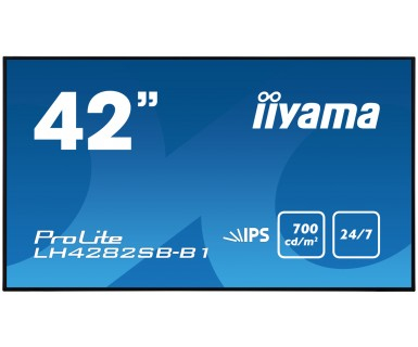 LCD Digital Signage 41.9in ProLite LH4282SB-B1/ IPS LED FFHDp Black
