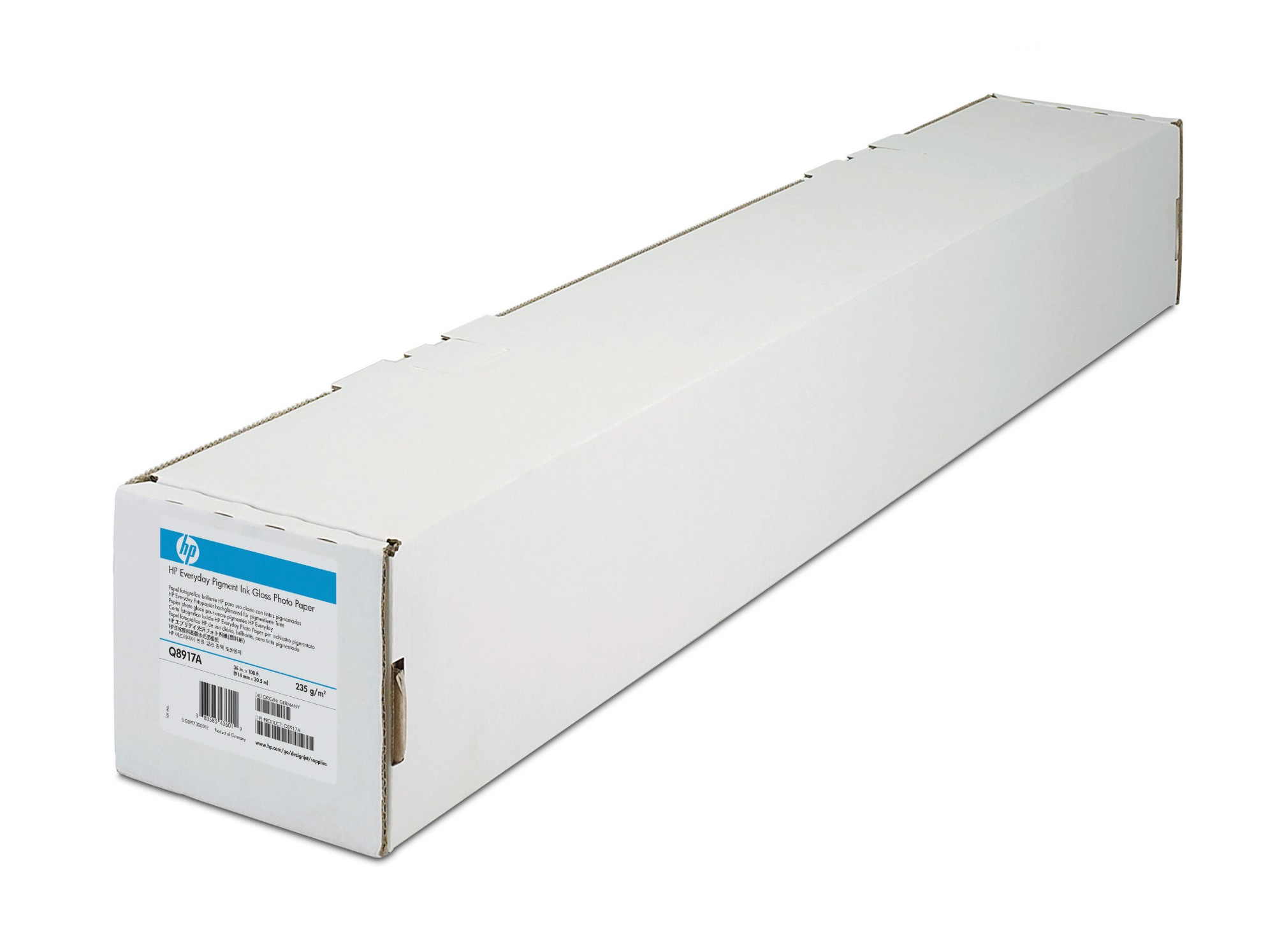 HP Papier met coating, extra zwaar, 914 mm x 30,5 m