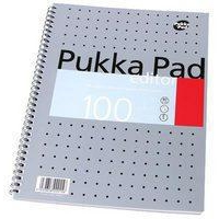 Pukka PUKKA EDITOR METALLIC A4 WRITING PAD 80G