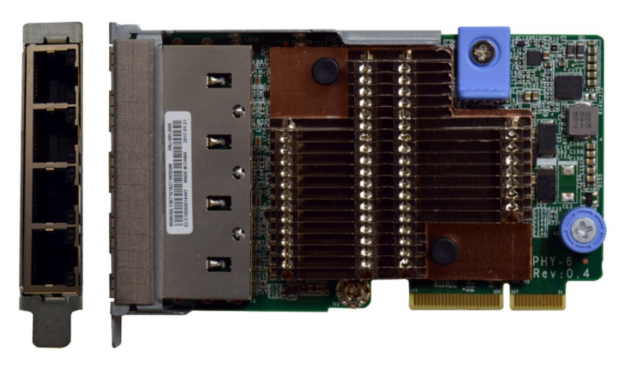 Lenovo 7ZT7A00547 adaptador y tarjeta de red Fibra 10000 Mbit/s Interno