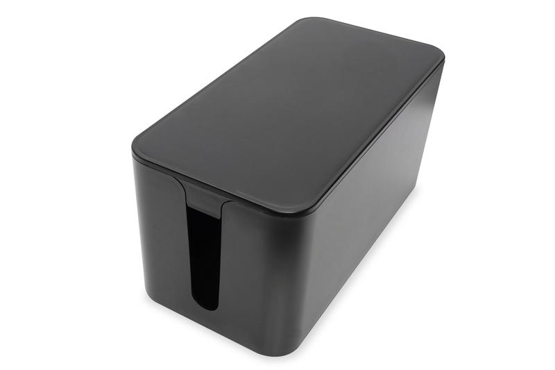 Digitus DA-90504 cable organizer Cable box Floor Black 1 pc(s)