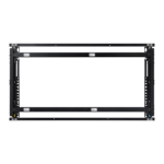 "Samsung WMN-55VD flat panel wall mount 55"" White"