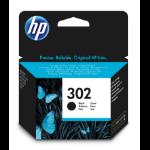 HP F6U66AE (302) Printhead cartridge black, 190 pages, 4ml