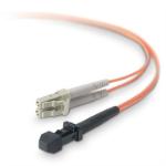"Belkin 5m LC / MTRJ fiber optic cable 196.9"" (5 m) OFC MT-RJ Orange"