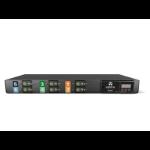 Vertiv Geist Metered power distribution unit (PDU) 2U Black 16 AC outlet(s)
