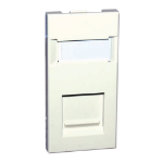 Videk 5525 wall plate/switch cover White