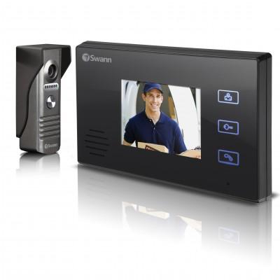 "Swann SWHOM-DP870C 3.5"" Black video intercom system"