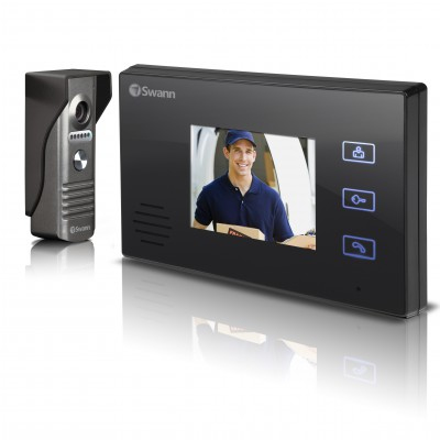 "Swann SWHOM-DP870C-UK Doorphone Video Intercom With Colour 3.5"" LCD Monitor"