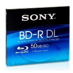 Sony 50GB BD-R DL 2x 50GB BD-R DL 1pc(s)