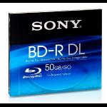 Sony 50GB BD-R DL 2x 50GB BD-R DL 1stuk(s)