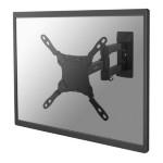 "Newstar NM-W225BLACK 32"" Black flat panel wall mount"